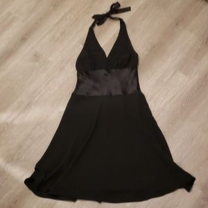 Jones New York Black Halter Cocktail Dress 12